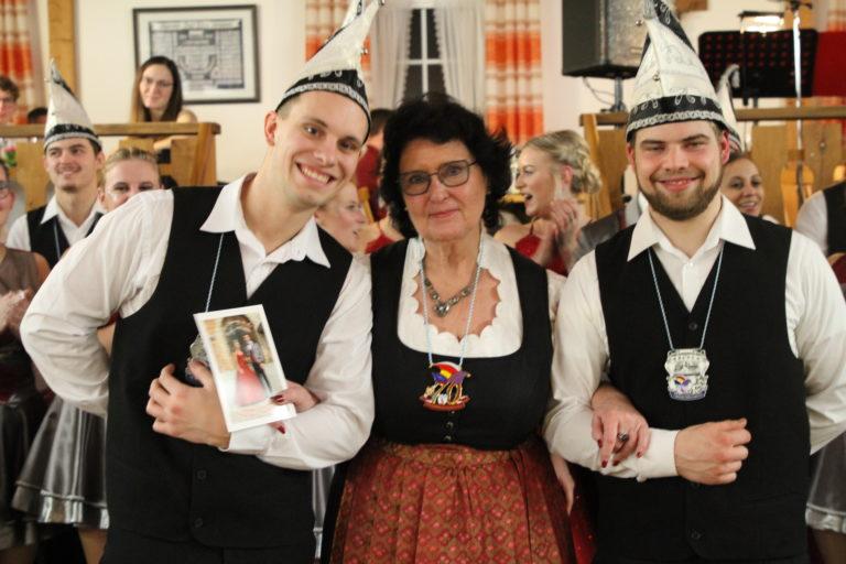 Orden für Vorsitzende Ingrid Schönberg